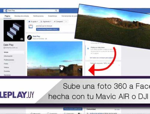 Sube un panorama 360 a facebook hecho con drones o cualquier cámara panorámica