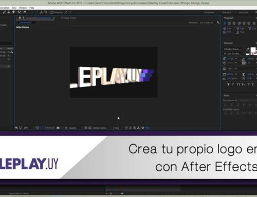 Cómo crear tu logo en 3D con After Effects CC