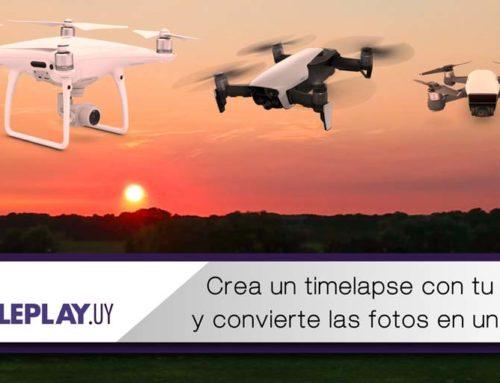 Como utilizar el modo Intervalo de tu drone DJI y transformarlo en un video.