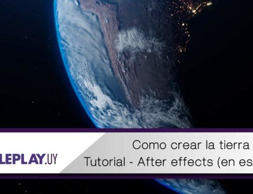 Tutorial: Tierra 3d realista con After Effects y VC orb