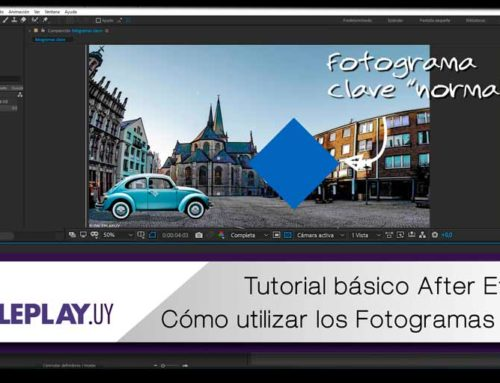 Tutorial básico de After Effects: Fotogramas Clave